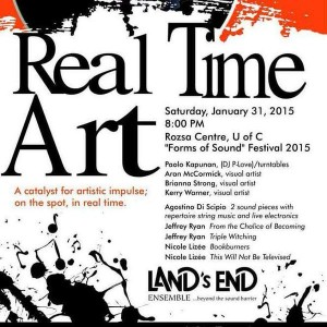 Real Time Art poster