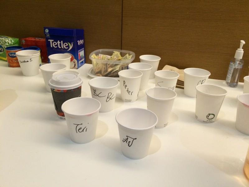 Tafel cups
