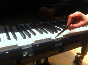 Triple piano and blade